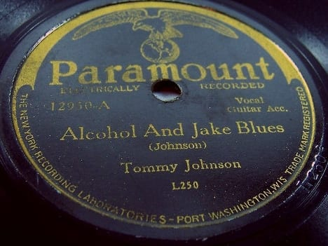 Tommy Johnson, Alcohol And Jake Blues (1930)