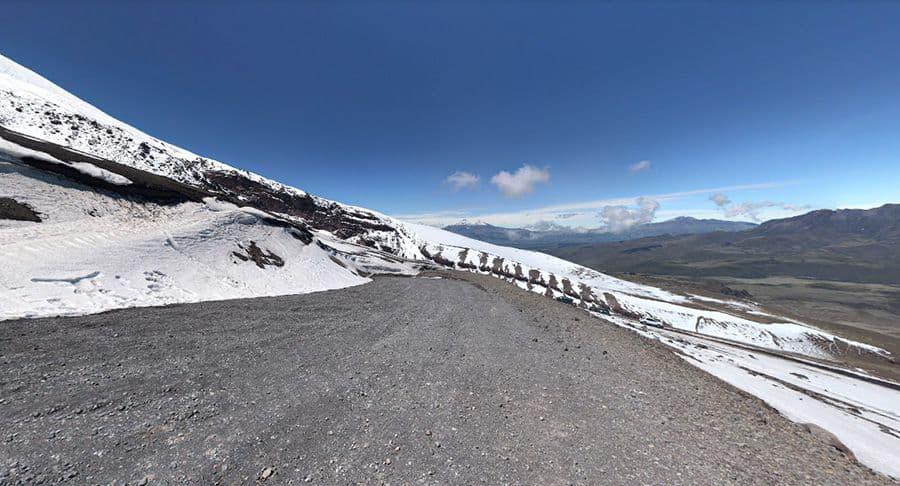 Cotopaxi Volcano Road