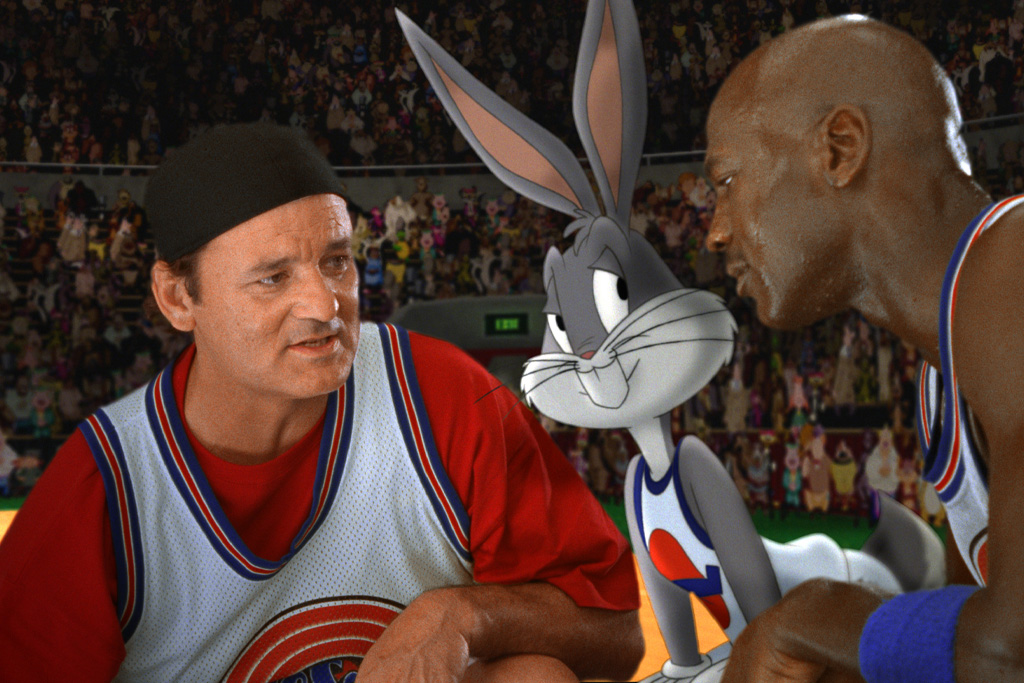 A Commercial Inspired Space Jam