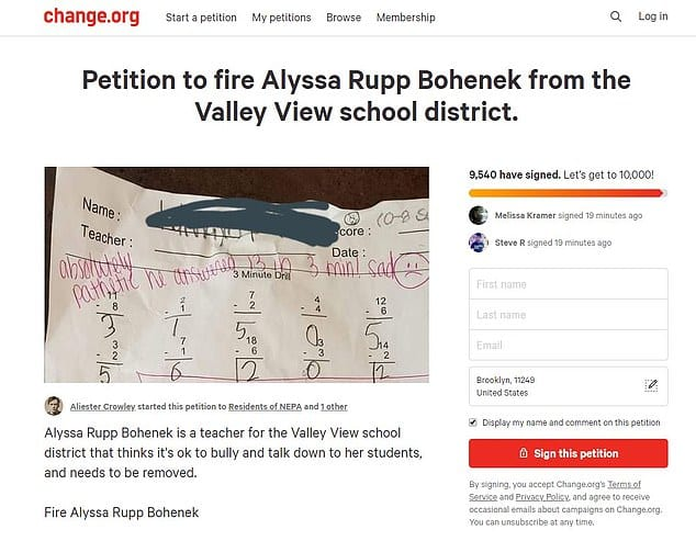 Launching A Petition