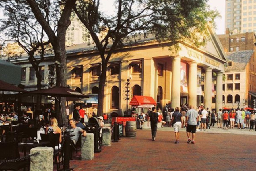 Faneuil Hall And Quincy Market