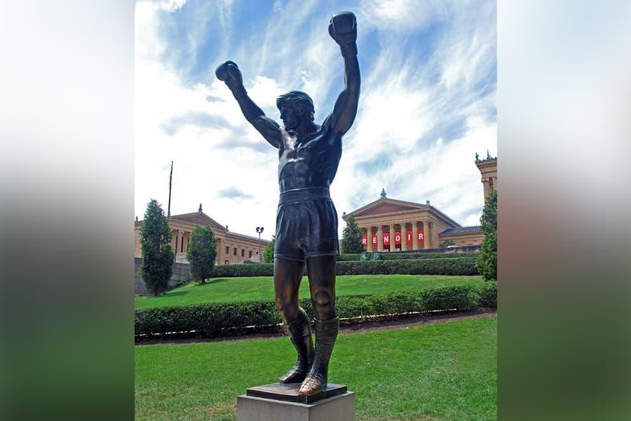 The Rocky Statue