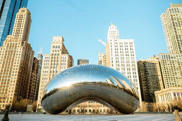 Cloud Gate (The Chicago Bean)
