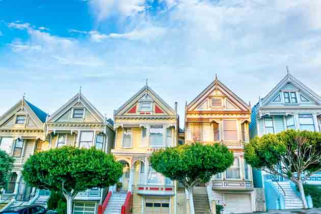 The Painted Ladies (The Sherbet Houses)