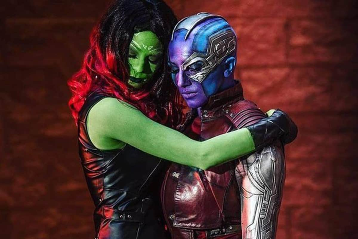 Gamora And Nebula