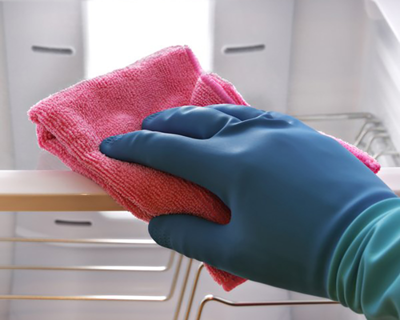 Disinfect Countertops, Mirrors, Windows, And Walls