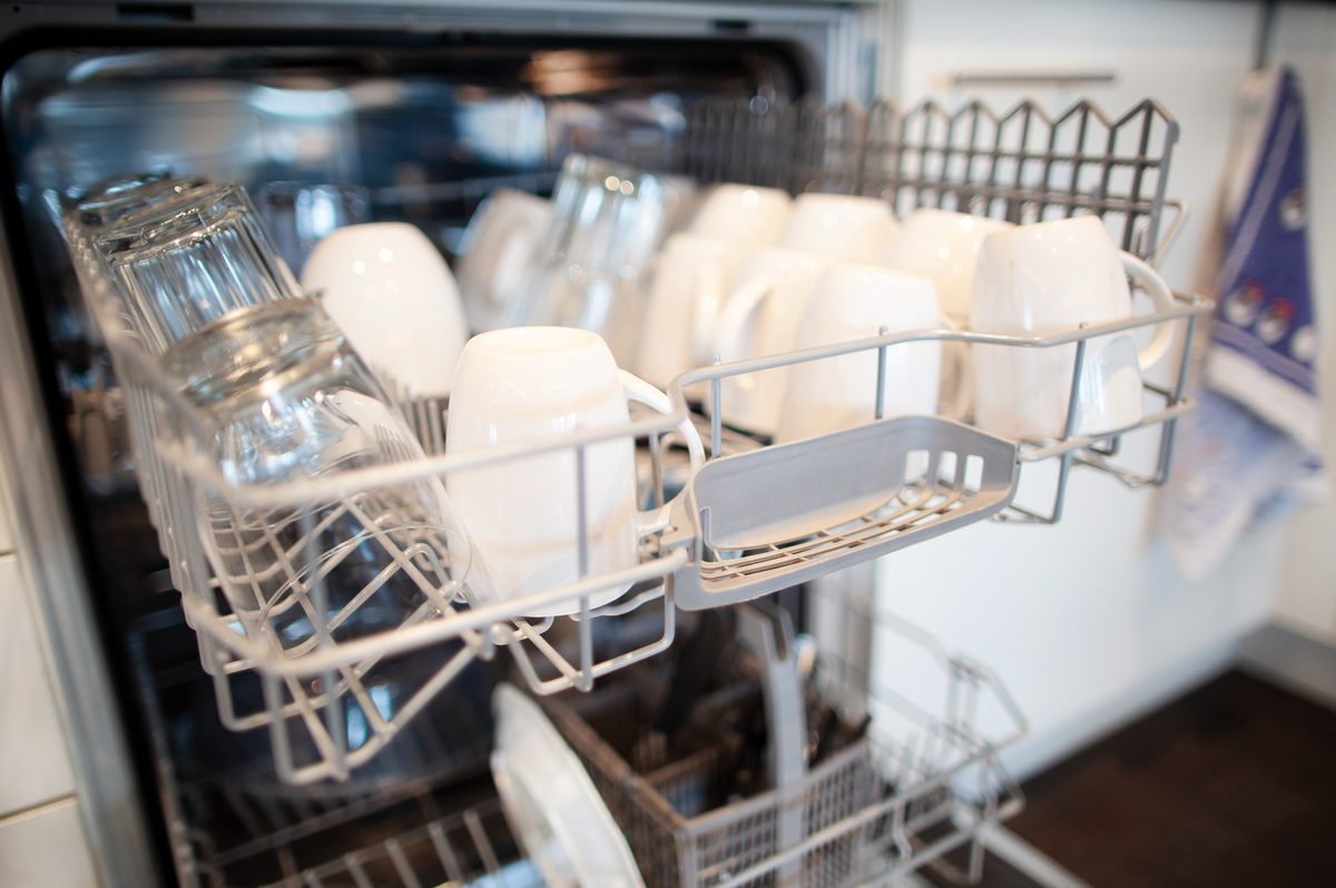 Clean The Dishwasher