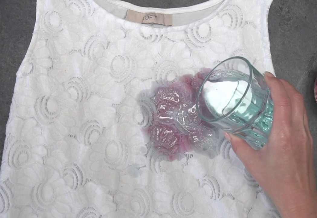 Get Rid Of Ink Stains On Clothes