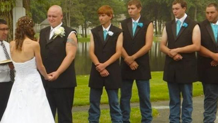 The Sleeveless Groomsmen