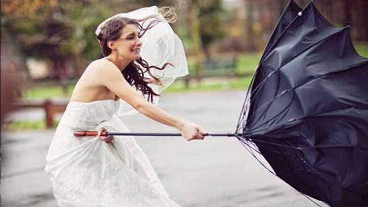 A Windy Wedding