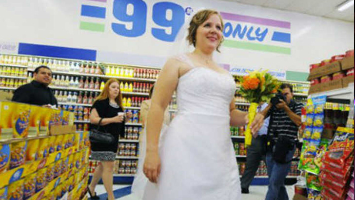 Dollar Tree Wedding