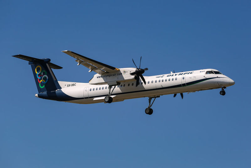 The Bombardier Dash 8