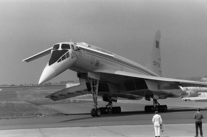 The Tupolev TU-144