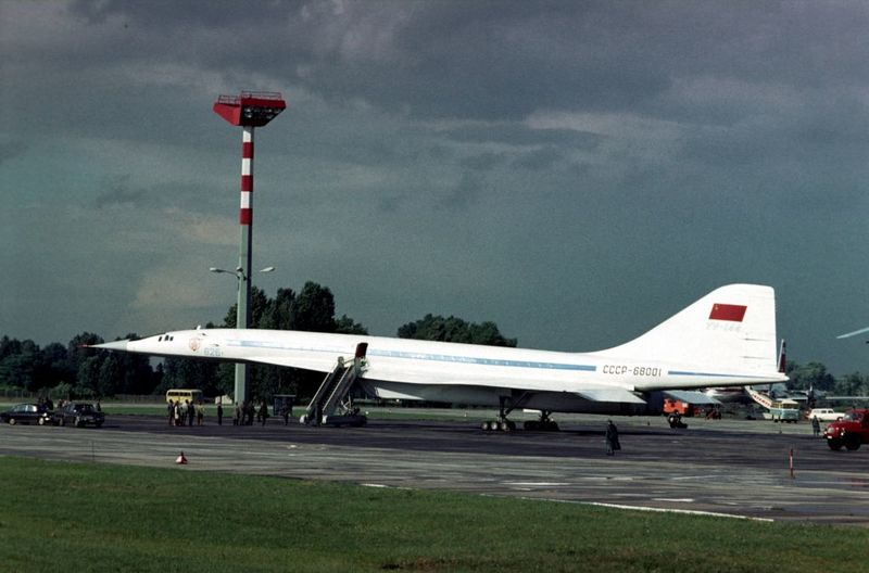 The Tupolev Tu-144