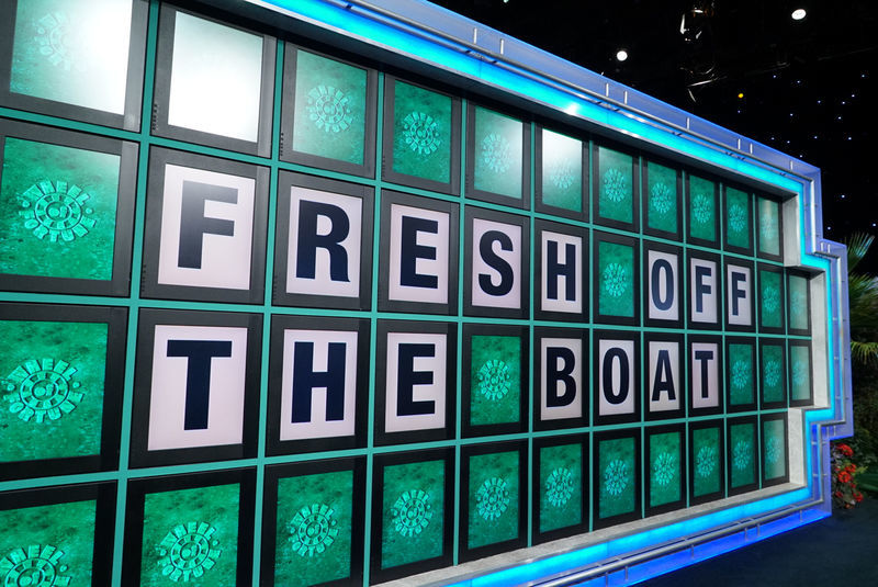 Fresh Off The Boat Featured Wheel Of Fortune In One Of Its Episodes