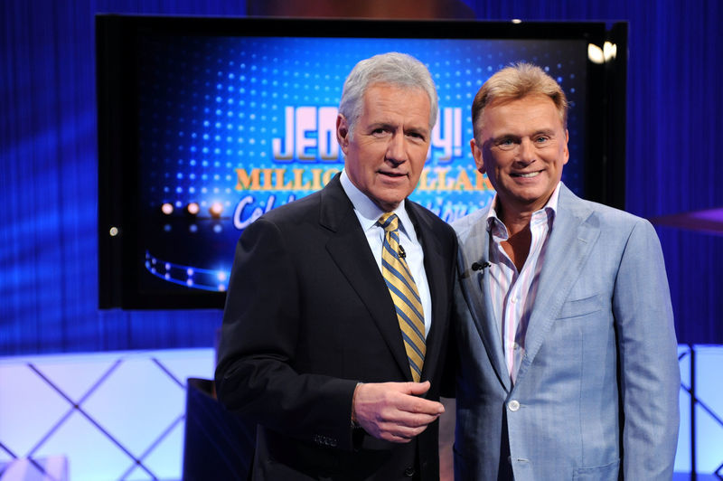 Pat Sajak And Alex Trebek Once Traded Places