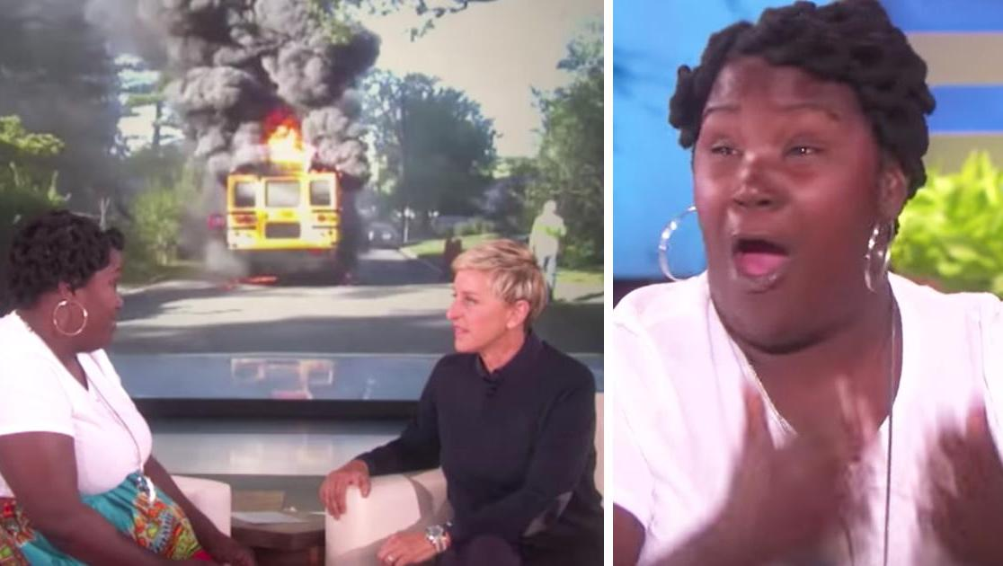 She Saved Young Children From A Flaming Bus But Ellen DeGeneres Was Shocked By Her Lifestyle