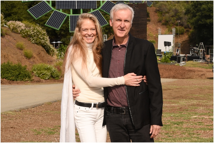 James Cameron And Suzy Amis – 19 Years