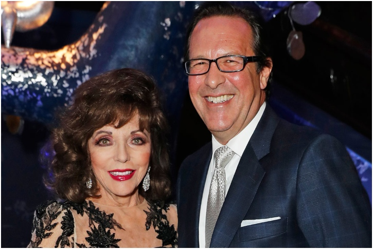 Joan Collins And Percy Gibson – 17 Years