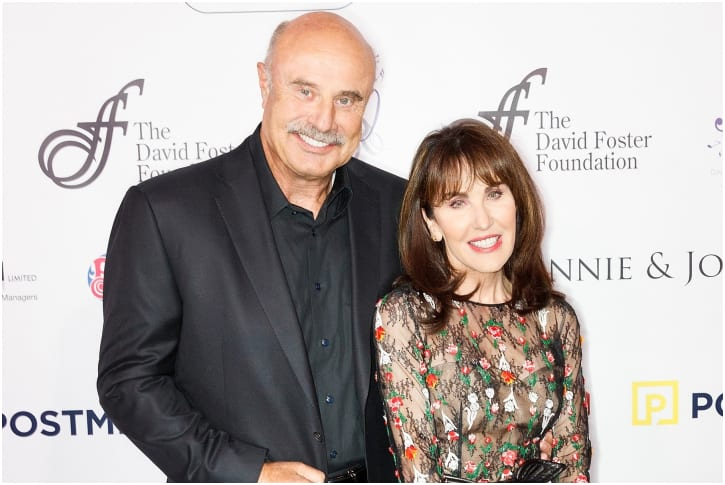 Dr. Phil And Robin Mcgraw – 43 Years