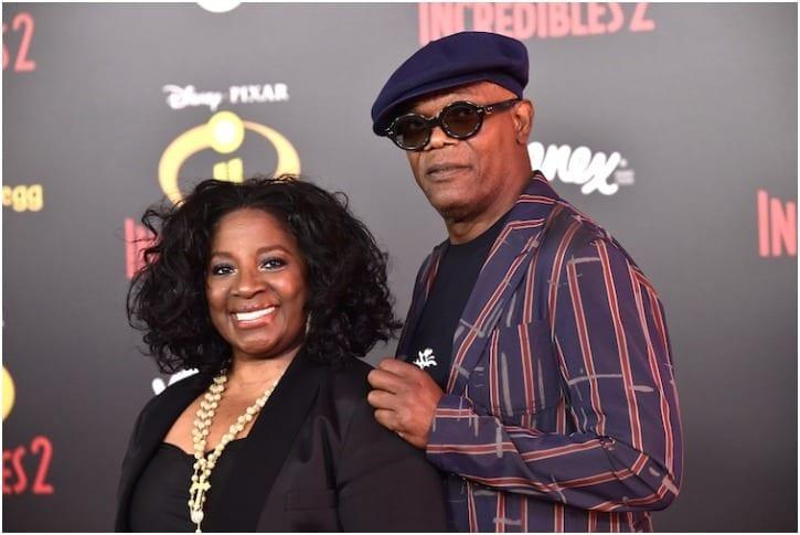 Samuel L. Jackson And Latanya Richardson – 39 Years