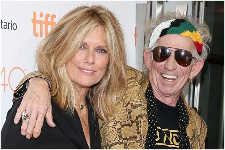 Keith Richards And Patti Hansen – 39 Years
