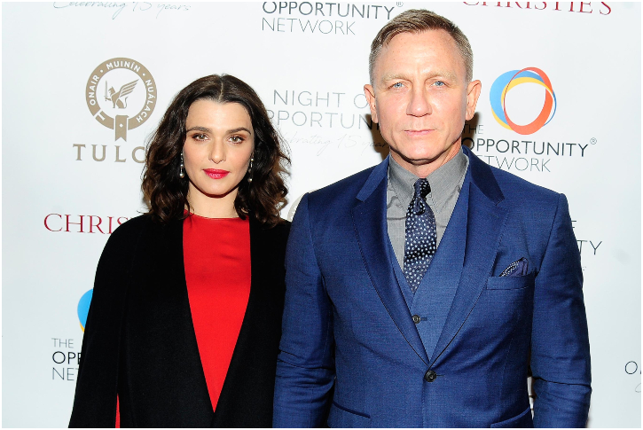 Daniel Craig And Rachel Weisz – 8 Years