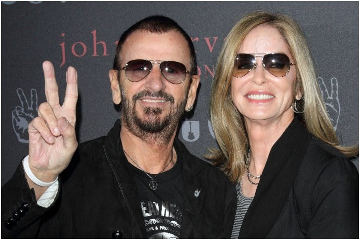 Ringo Starr And Barbara Bach – 37 Years