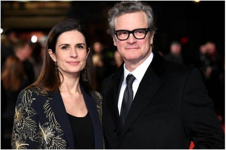 Colin Firth And Livia Giuggiolli – 22 Years
