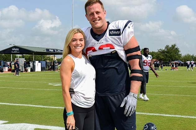 JJ Watt And Kealia Ohai
