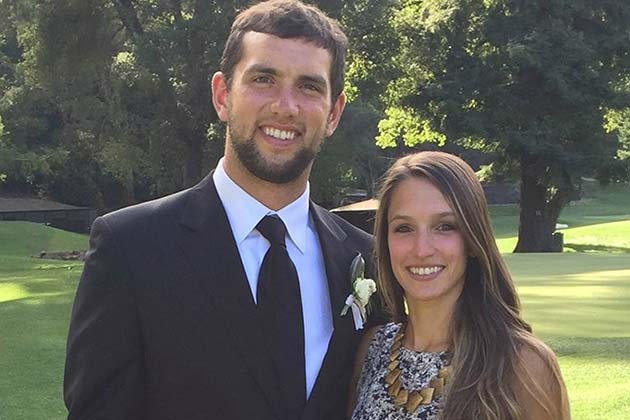 Andrew Luck And Nicole Pechanec