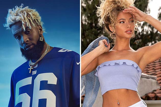 Odell Beckham Jr. And Lauren Wood