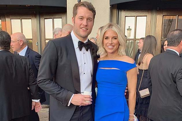 Matthew Stafford And Kelly Stafford