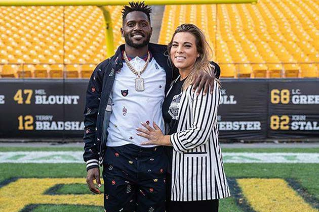 Antonio Brown And Chelsie Kyriss