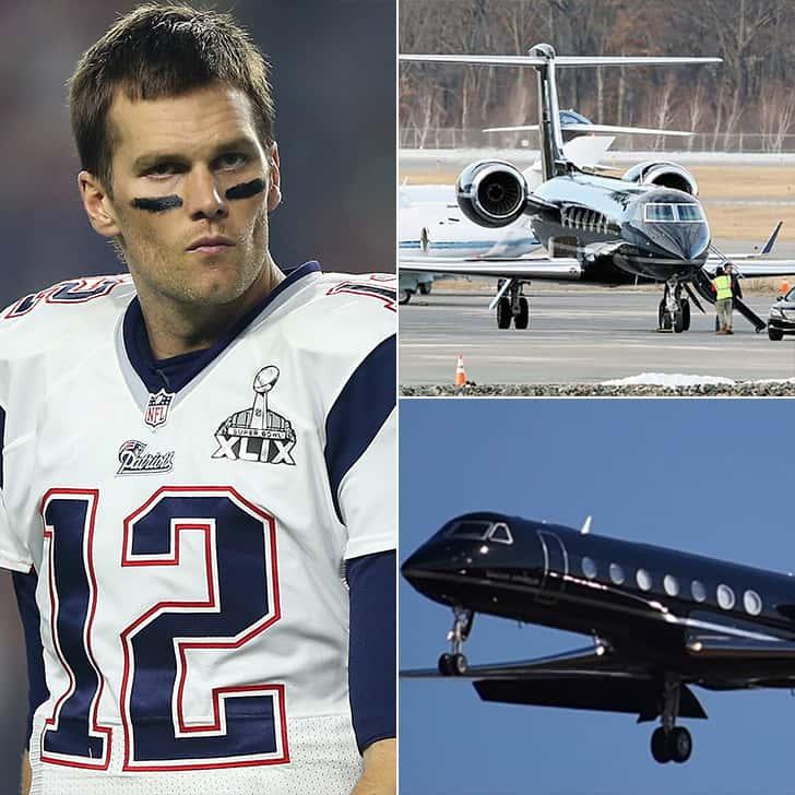 Tom Brady – Luxurious Gulfstream G550, $50 Million