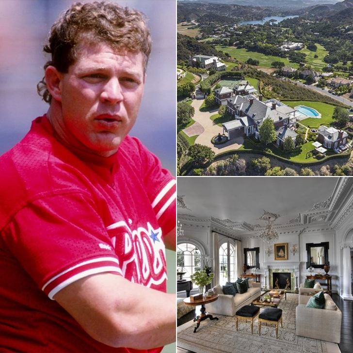 Lenny Dykstra – Mansion, $17 Million