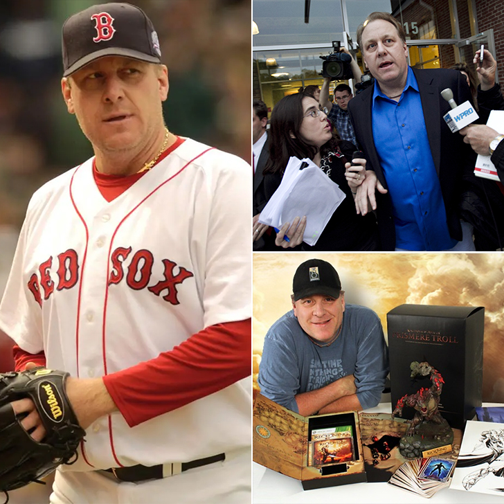 Curt Schilling – Failed Video Game Business, $75 Million