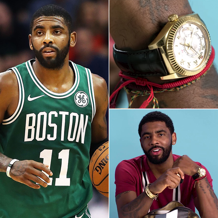 Kyrie Irving – Jewelry Collection, $1 Million