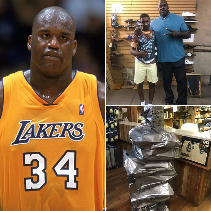 Shaquille O'Neal – Ten Pairs Of Shoes, Estimated $650