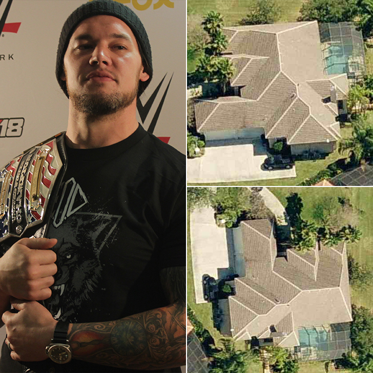 Baron Corbin -The Undertaker's House, Estimated $3.7 Million