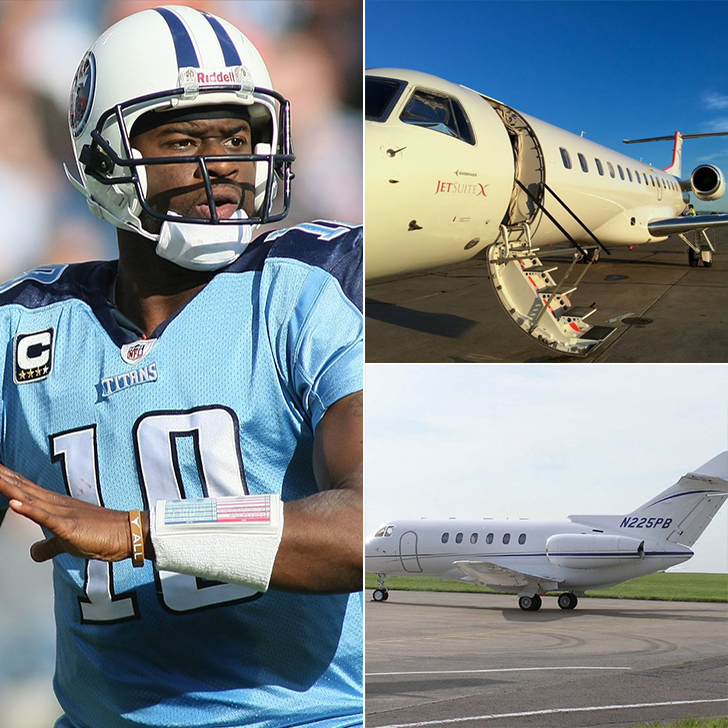 Vince Young – One Chartered Flight, $22K