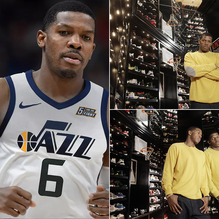Joe Johnson – One Thousand Pairs of Sneakers, Price Undisclosed