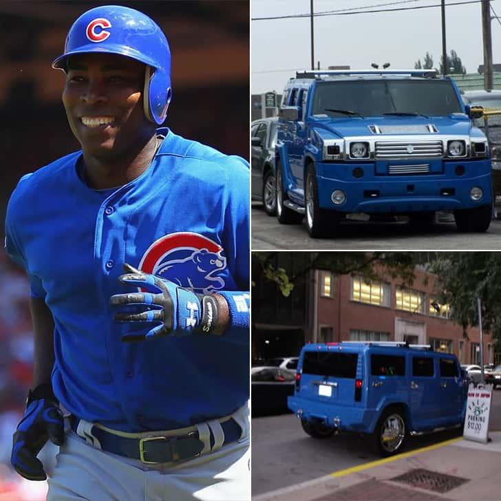 Alfonso Soriano – Blue Hummer, $150K