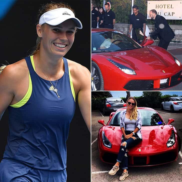 Caroline Wozniacki – One Ferrari Sports Car, Price Undisclosed