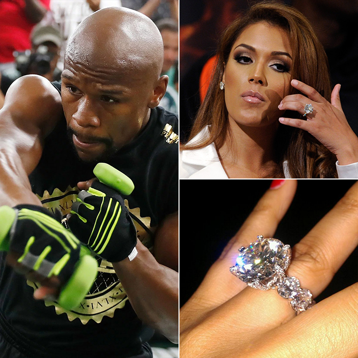 Floyd Mayweather – One Engagement Ring, $10 Million