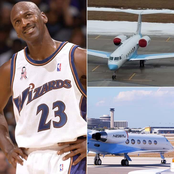 Michael Jordan – One Private Jet, $30 Million