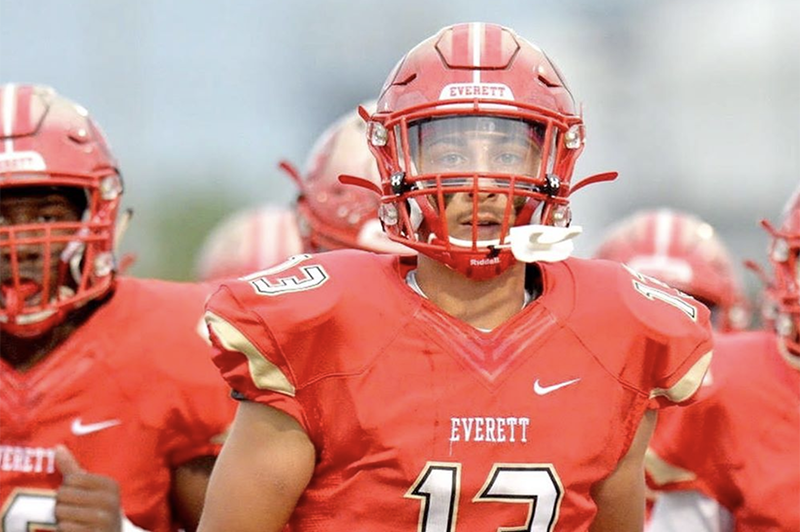 Massachusetts — Everett High School