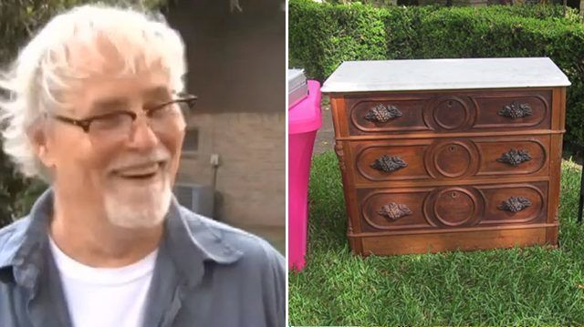 Man Purchases A Dresser, Finds Something Completely Unexpected Inside