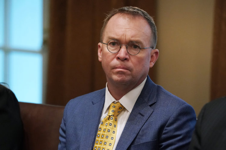 Mick Mulvaney (Acting Chief Of Staff) — $203,500