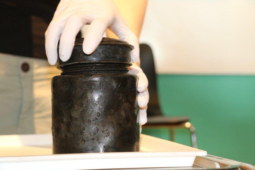 The Black Tin Jar